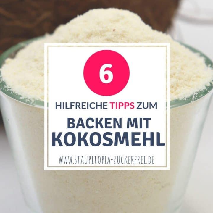 Rezepte mit Kokosmehl backen: Tipps und Tricks