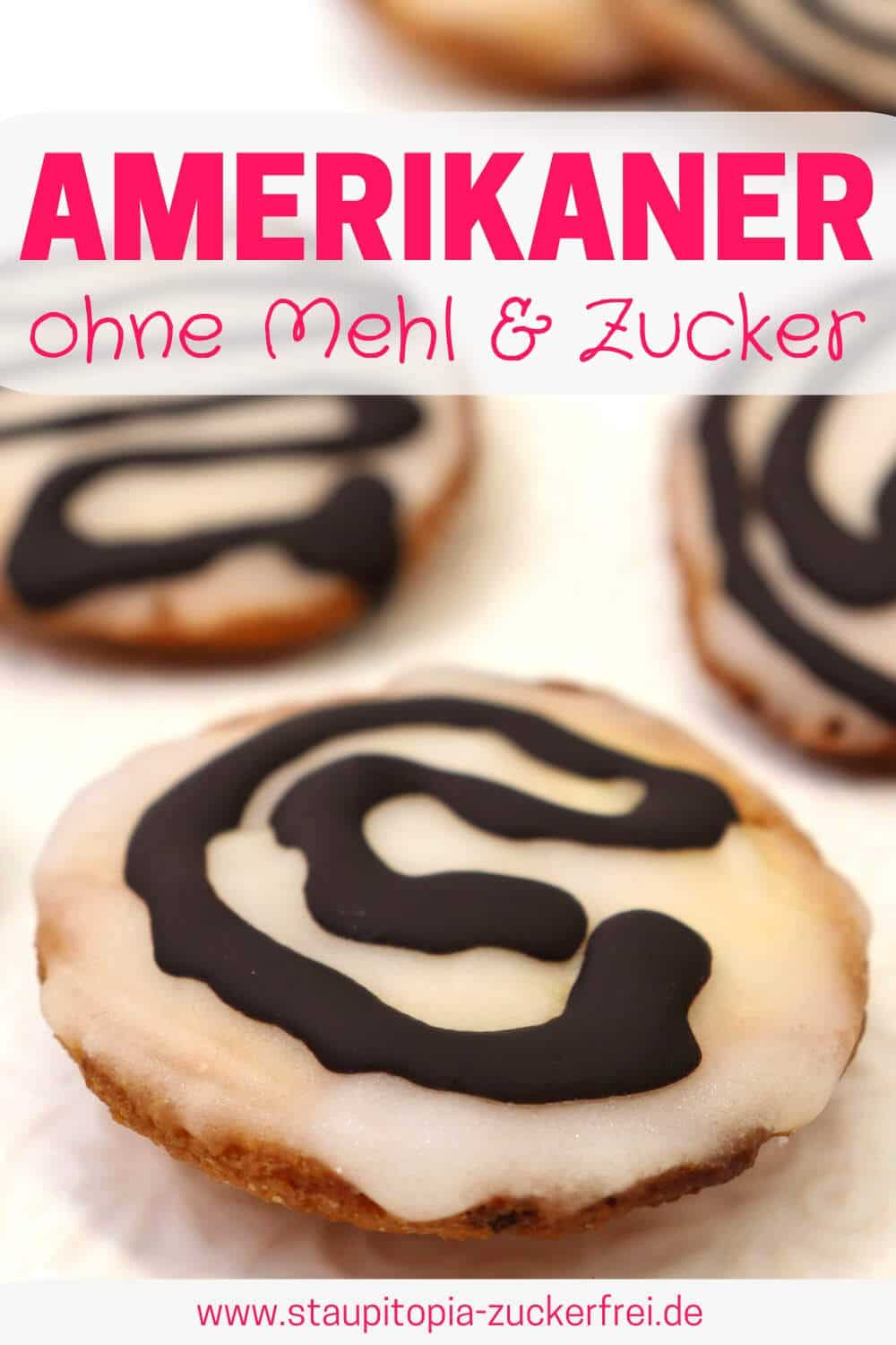 Low Carb Amerikaner Rezept mit gemahlenen Mandeln