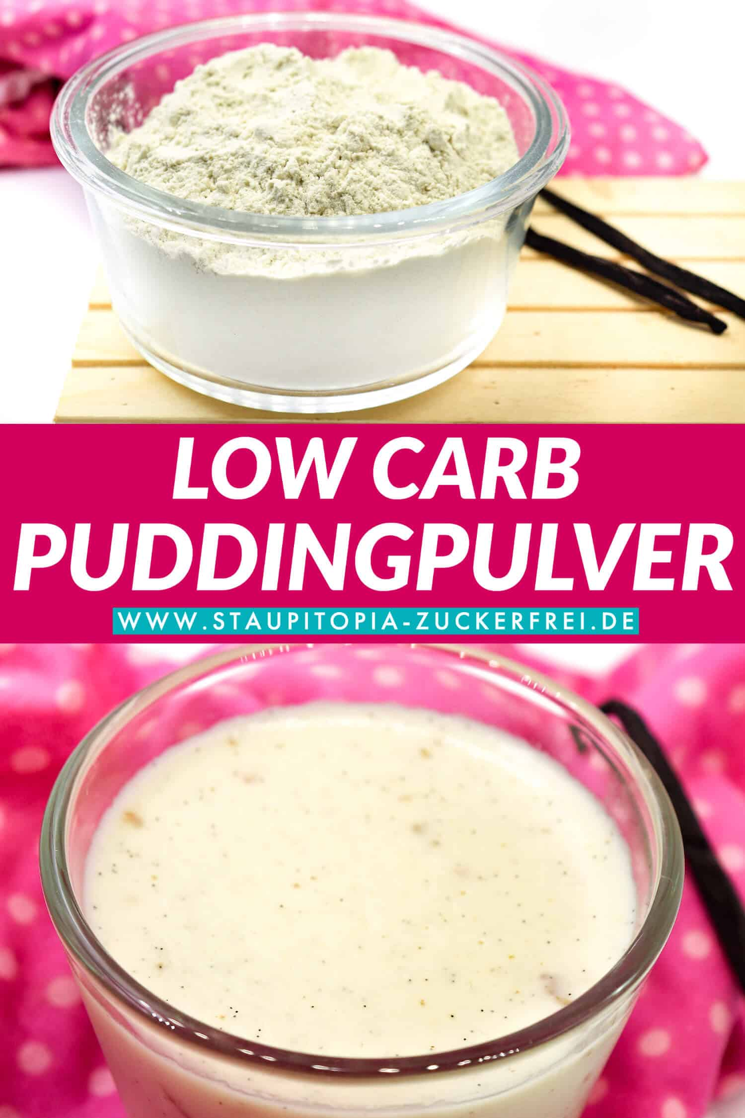 Low Carb Puddingpulver Vanille selbst machen
