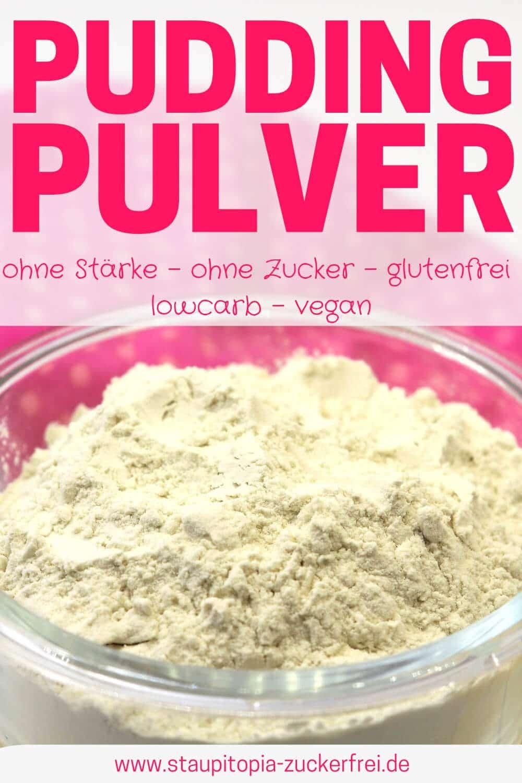 Rezept für ein veganes Puddingpulver