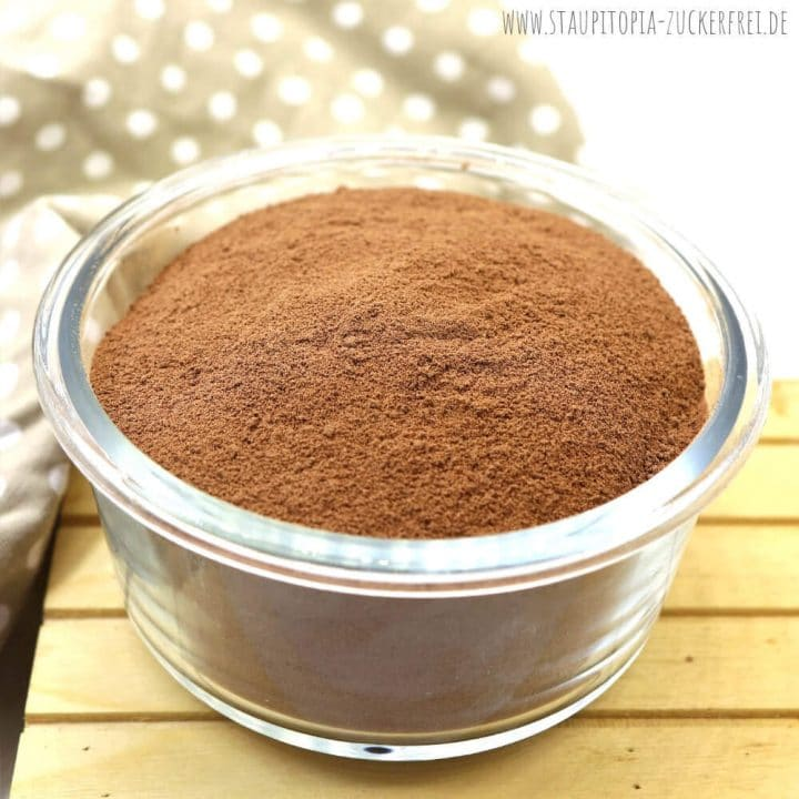 Schoko Puddingpulver Low Carb selbst machen