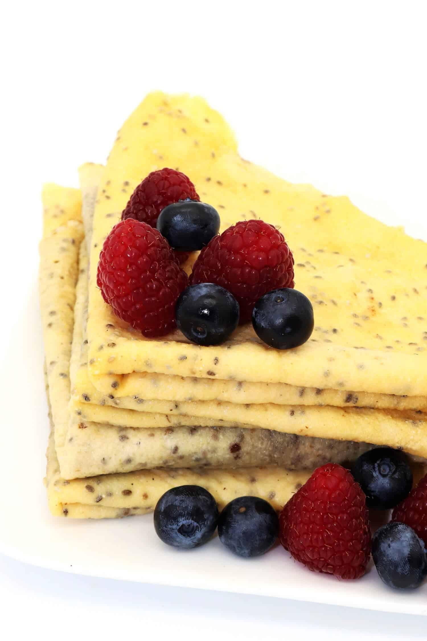 Rezept für glutenfreie Crepes