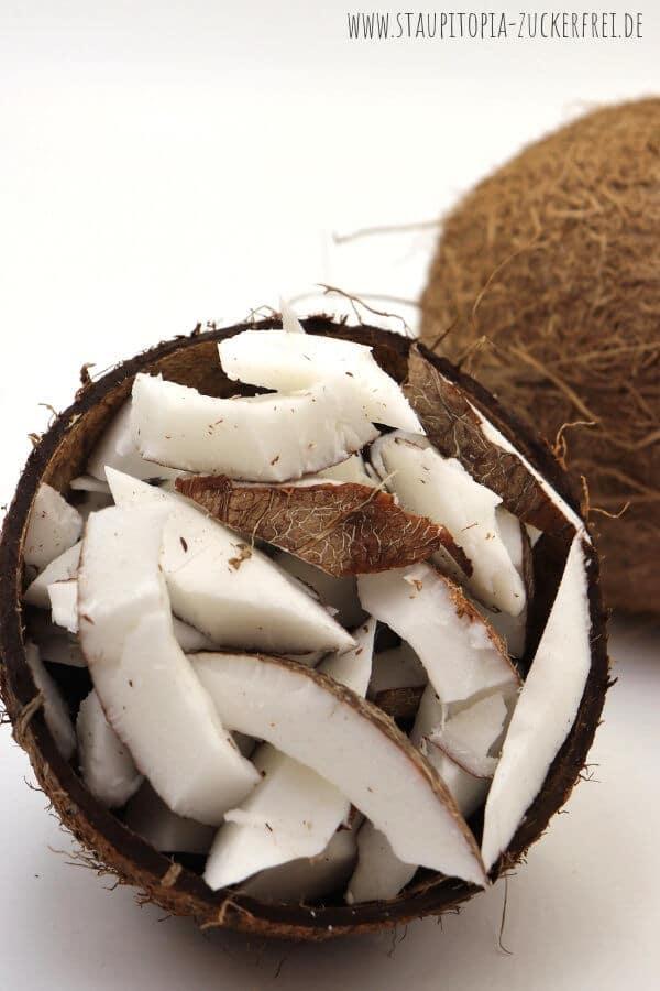 Kokosnuss aushöhlen Anleitung