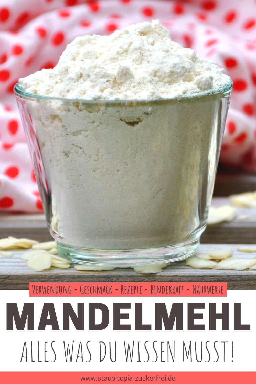 Mandelmehl - Rezepte, Nährwerte, Bindekraft, Geschmack