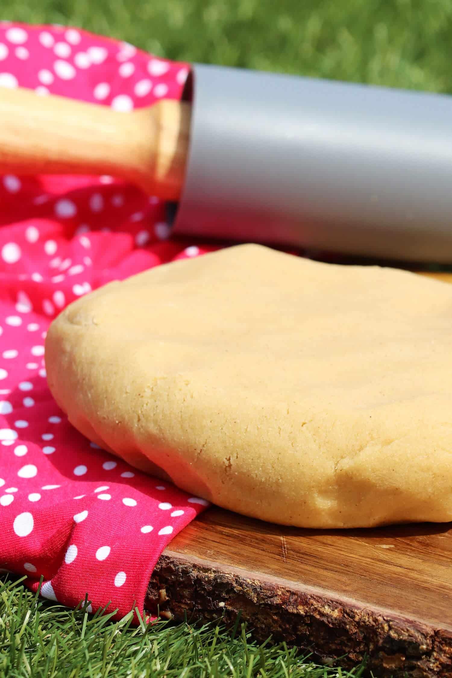 Rezept für einen Mürbeteig ohne Backpulver und Zucker