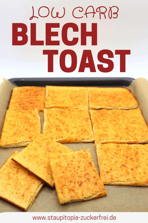 Low Carb Toast vom Blech Rezept