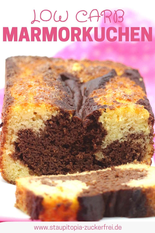 Low Carb Marmorkuchen Rezept