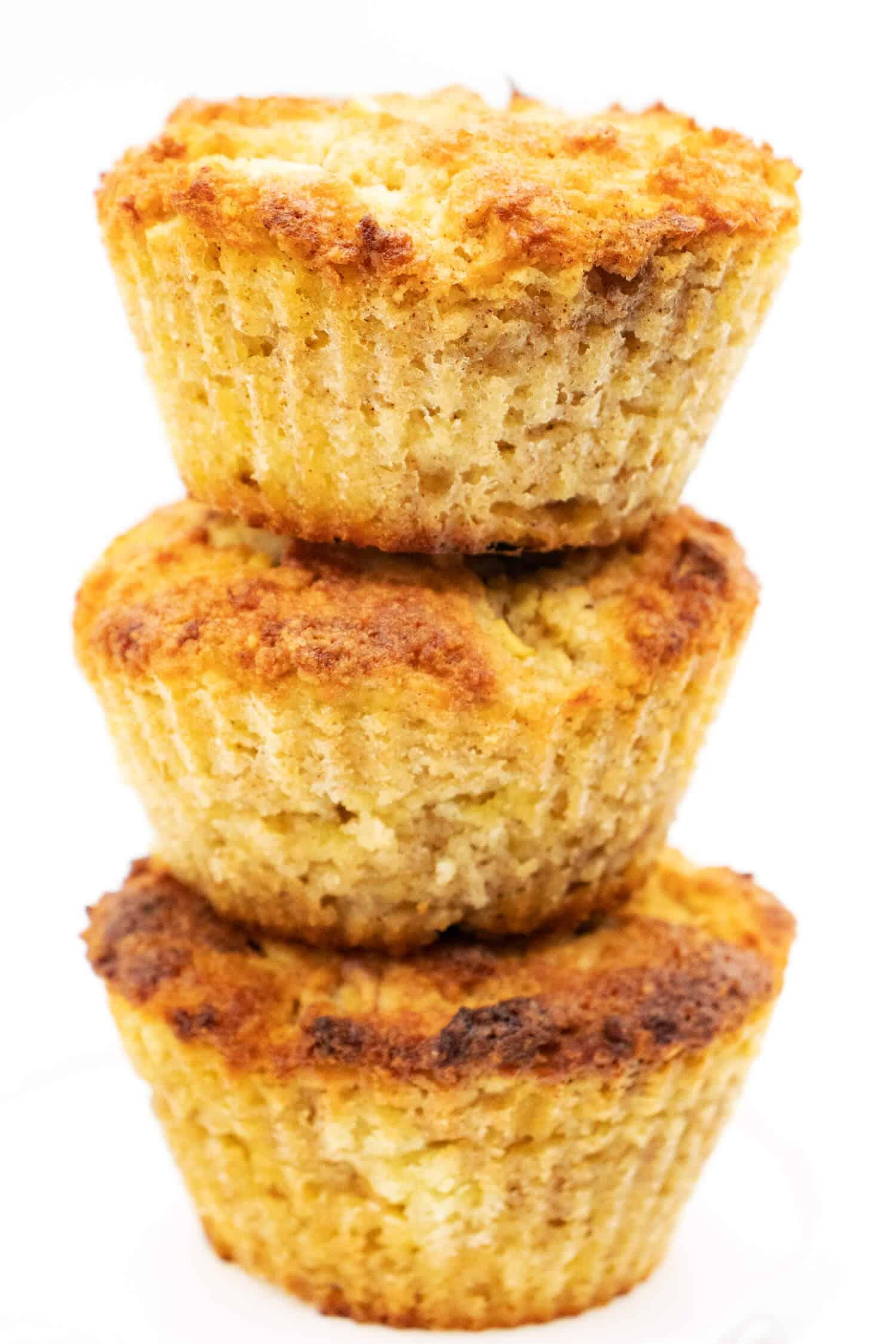 Apfelmuffins ohne Zucker Rezept