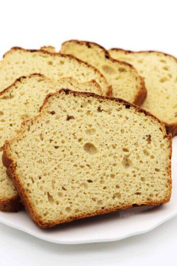 Glutenfreies Kartoffelbrot ohne Kohlenhydrate und Mehl