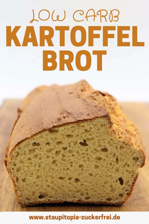 Low Carb Kartoffel Brot ohne Mehl