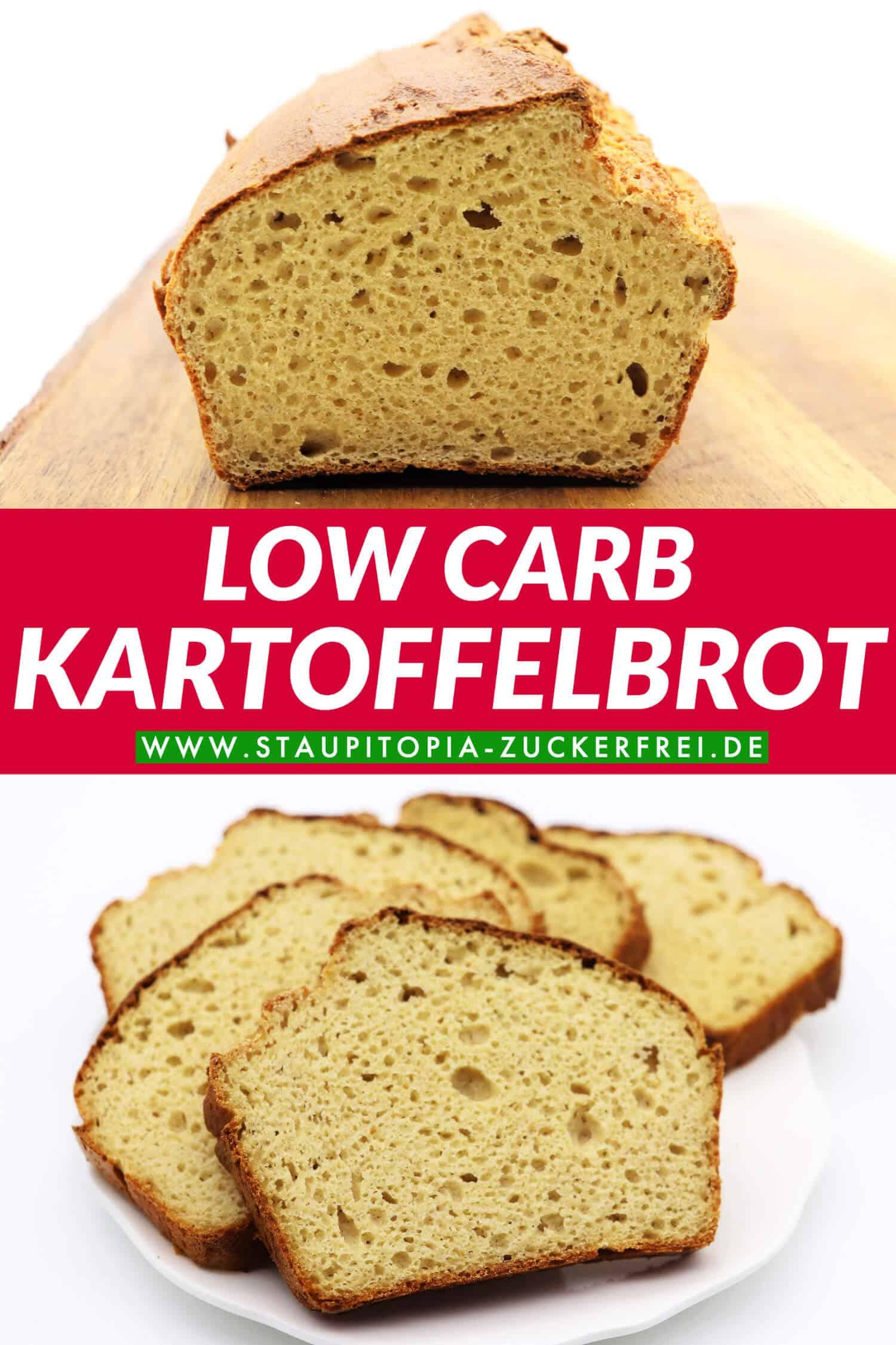 Low Carb Kartoffelbrot Rezept