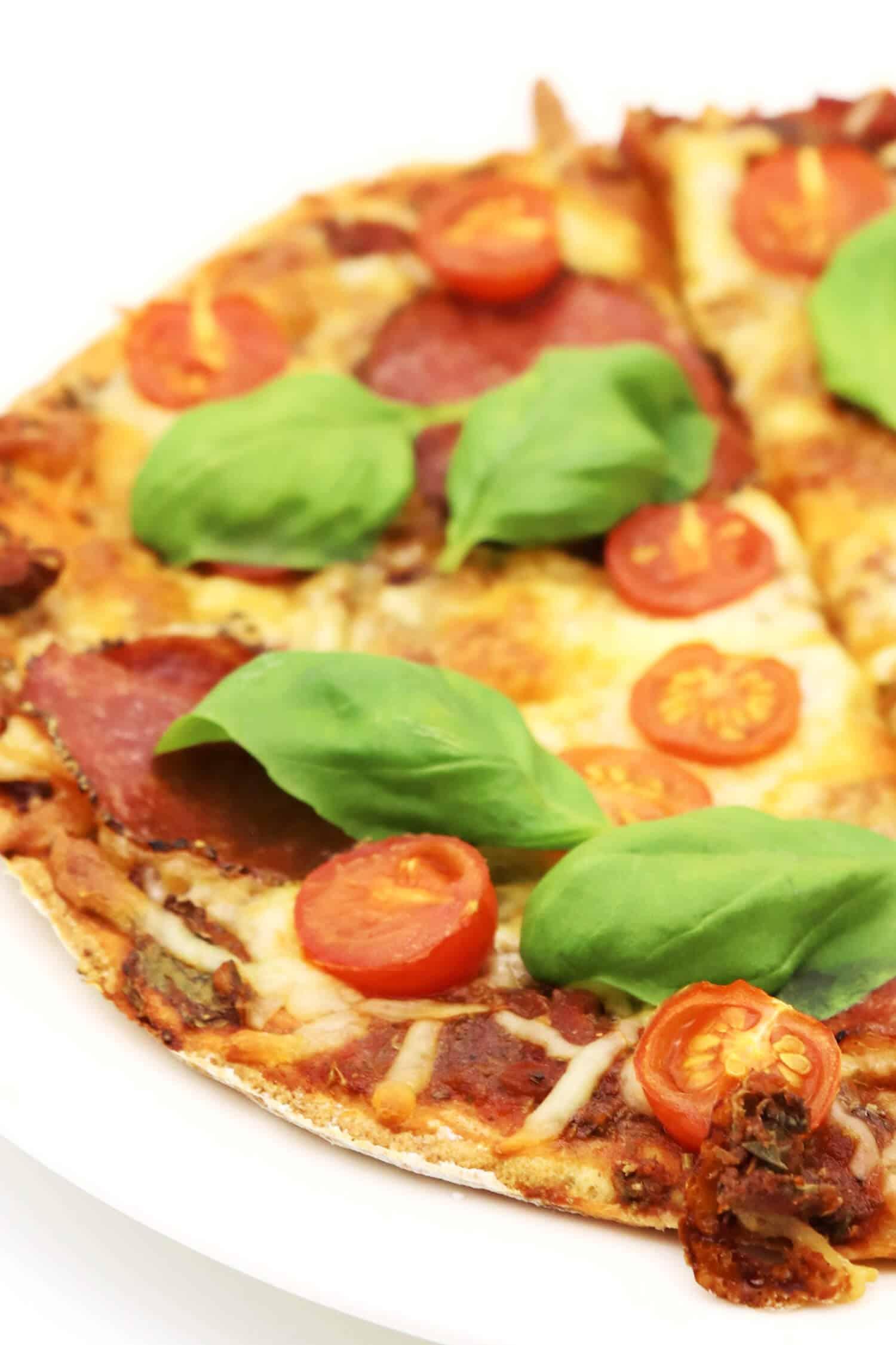 Rezept für die beste Low Carb Pizza