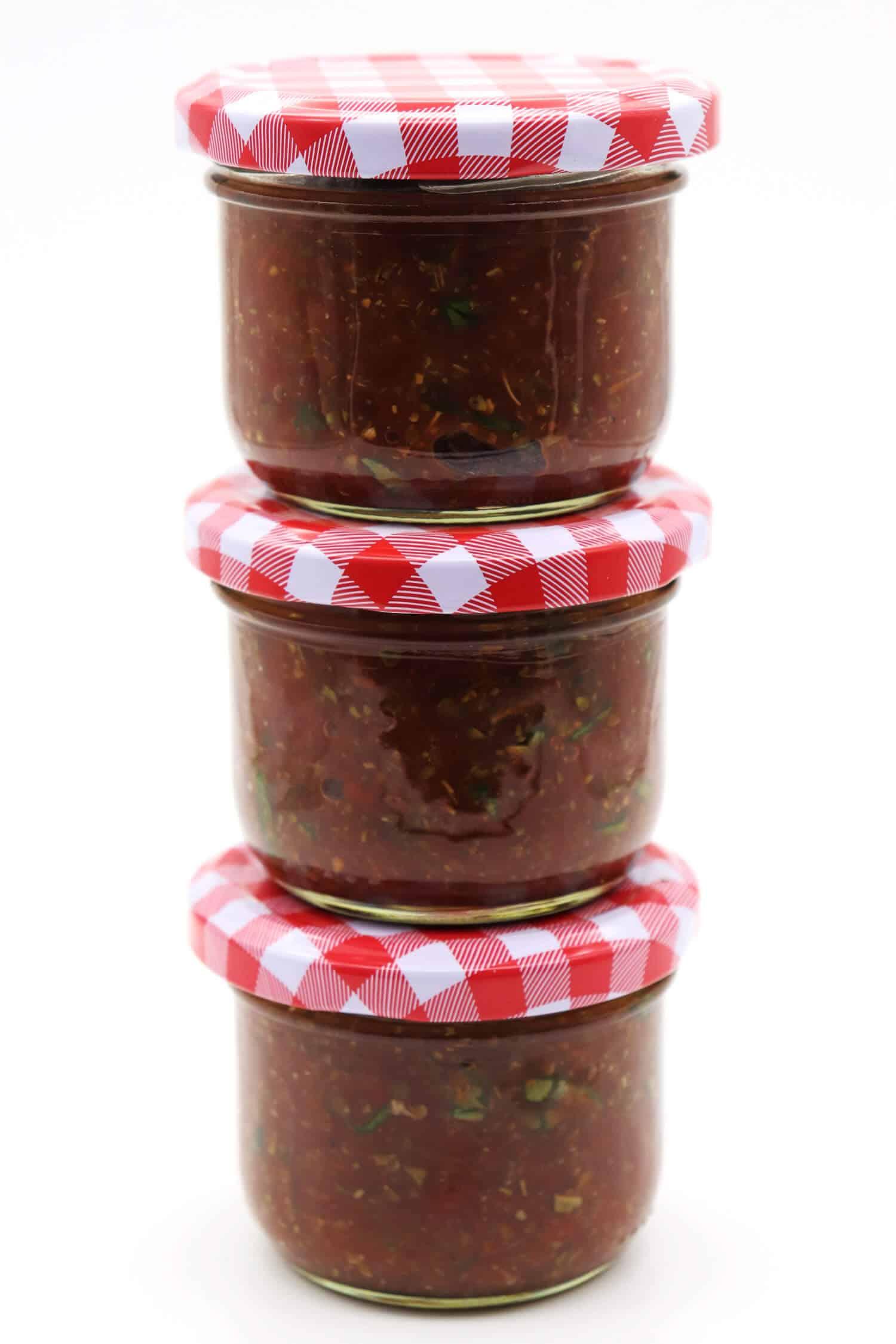Rezept für Low Carb Tomatensoße ohne Zucker