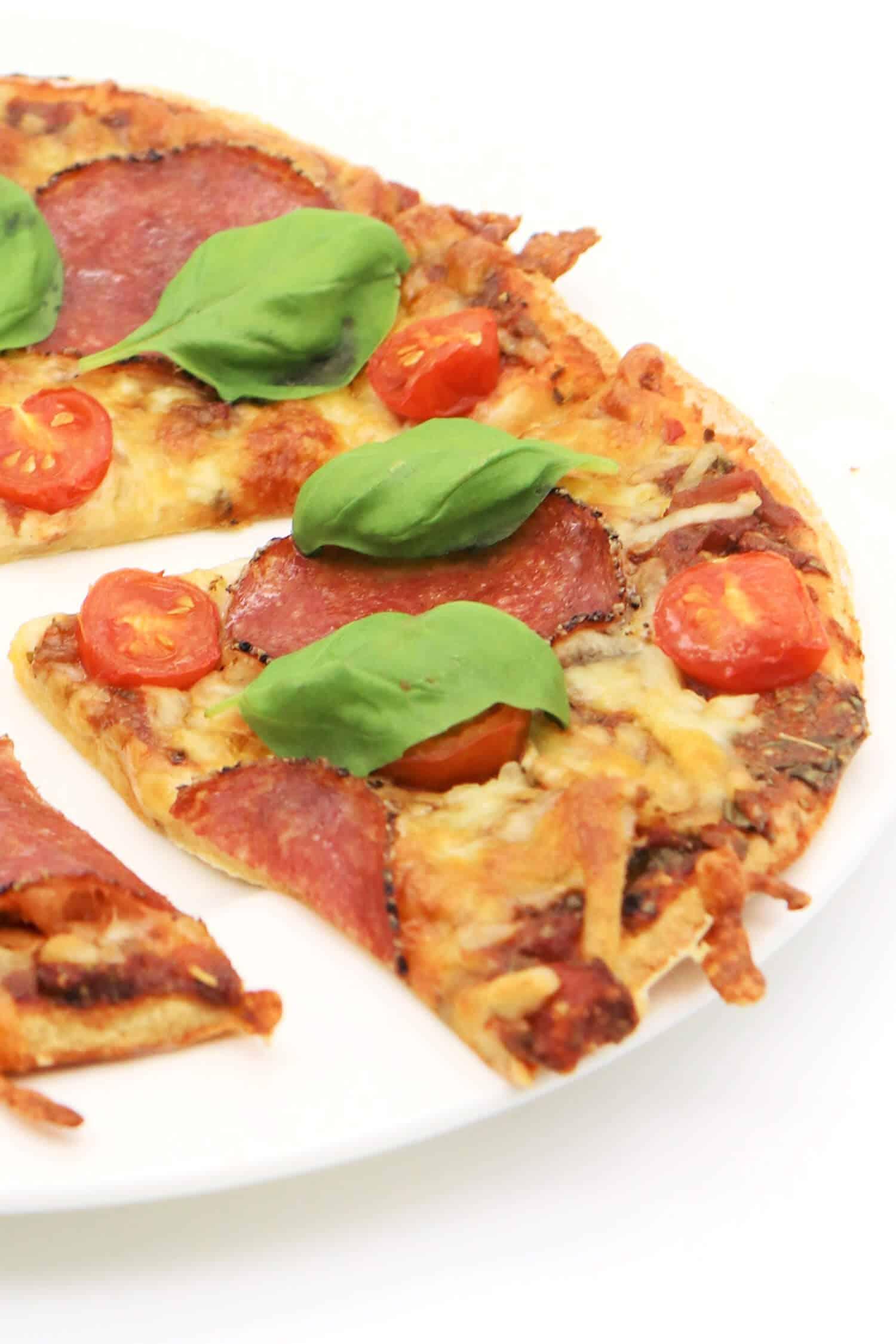 Rezept für einen Low Carb Pizzaboden ohne Kohlenhydrate