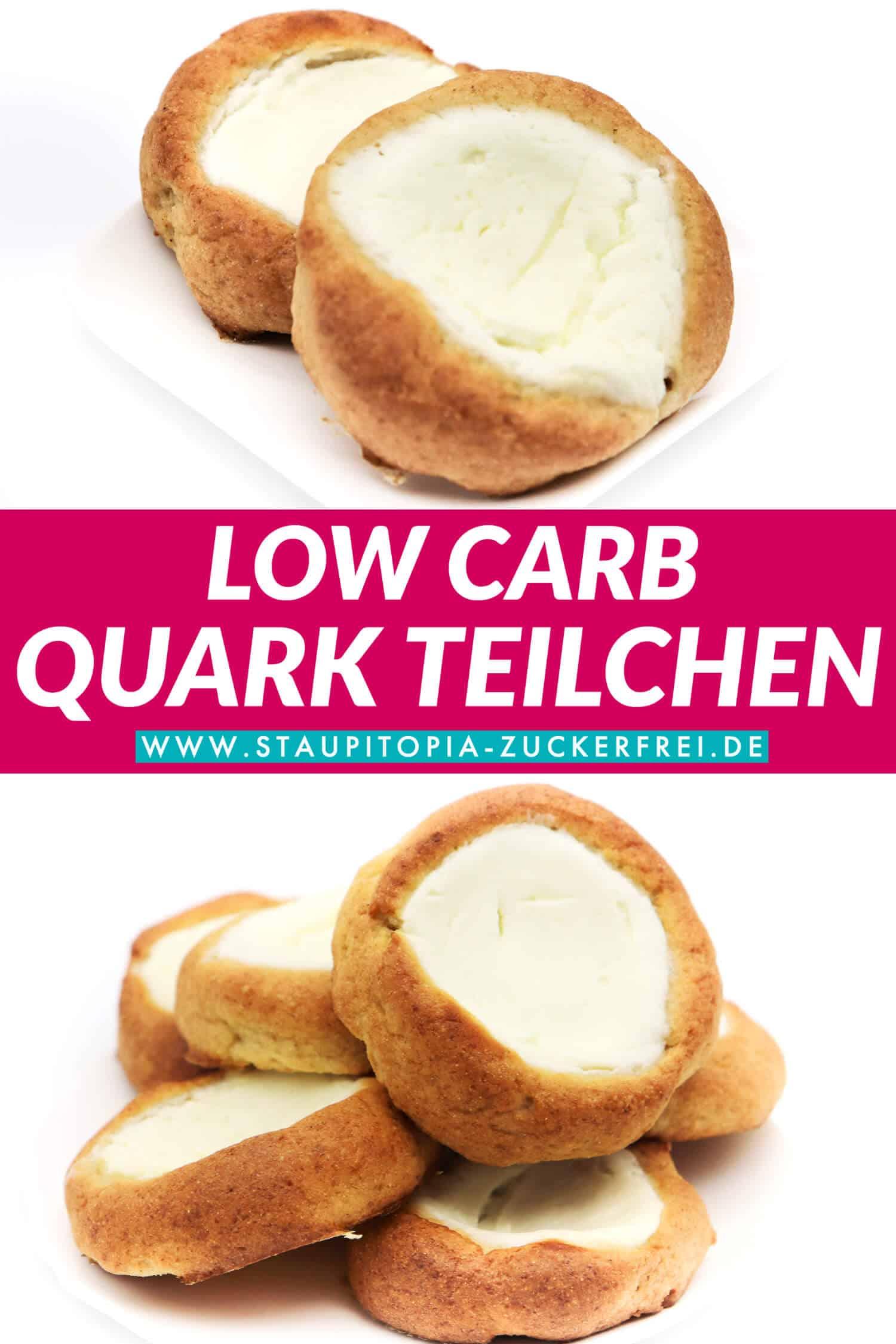 Quark Teilchen ohne Zucker und Mehl Rezept