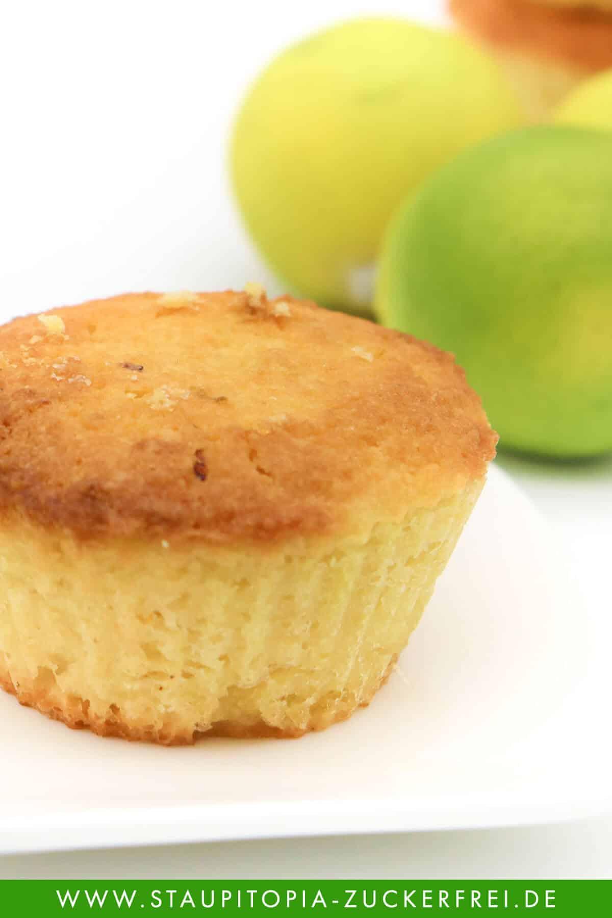Limetten Muffins ohne Zucker und Mehl Rezept