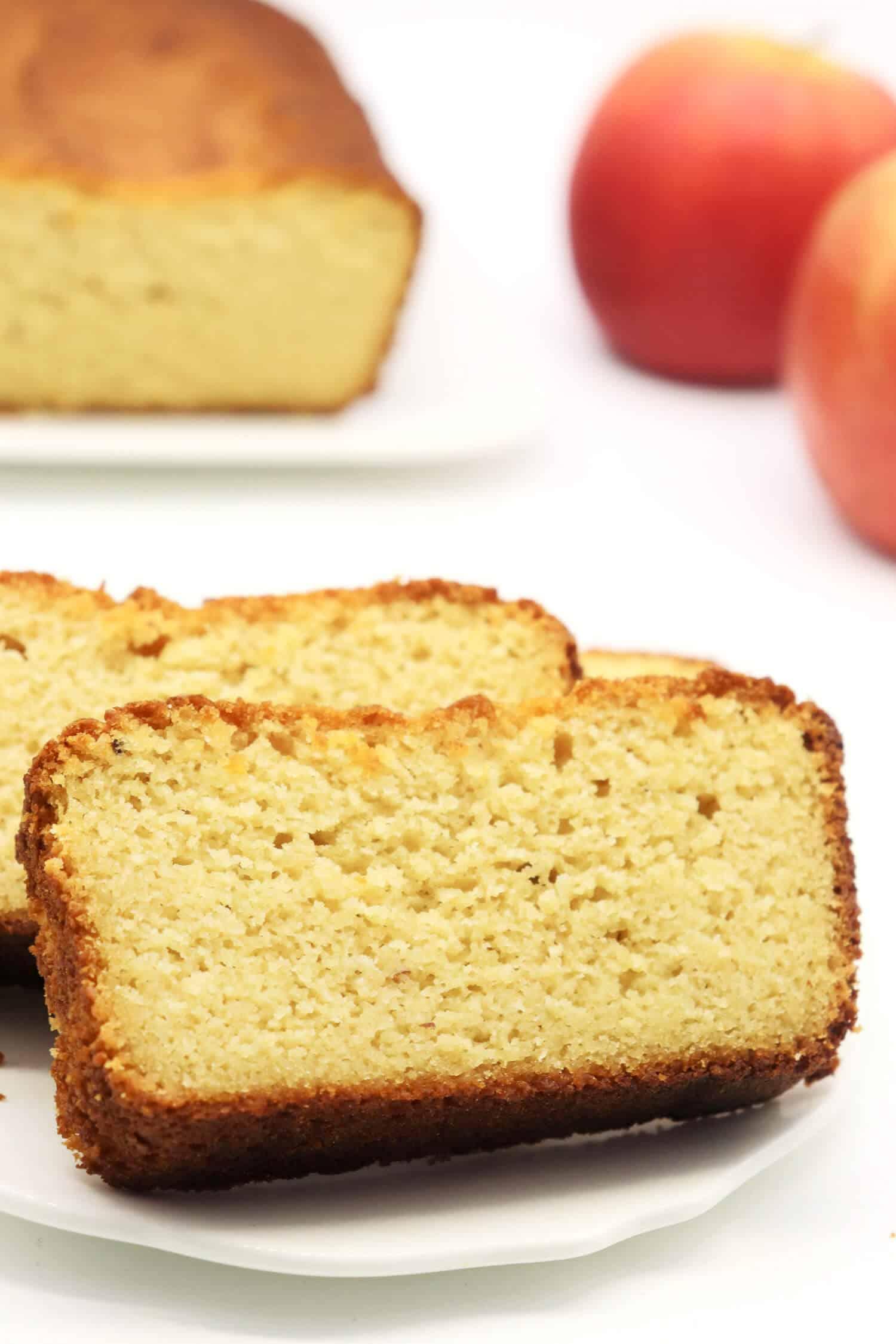 Low Carb Apfelkuchen ohne Zucker