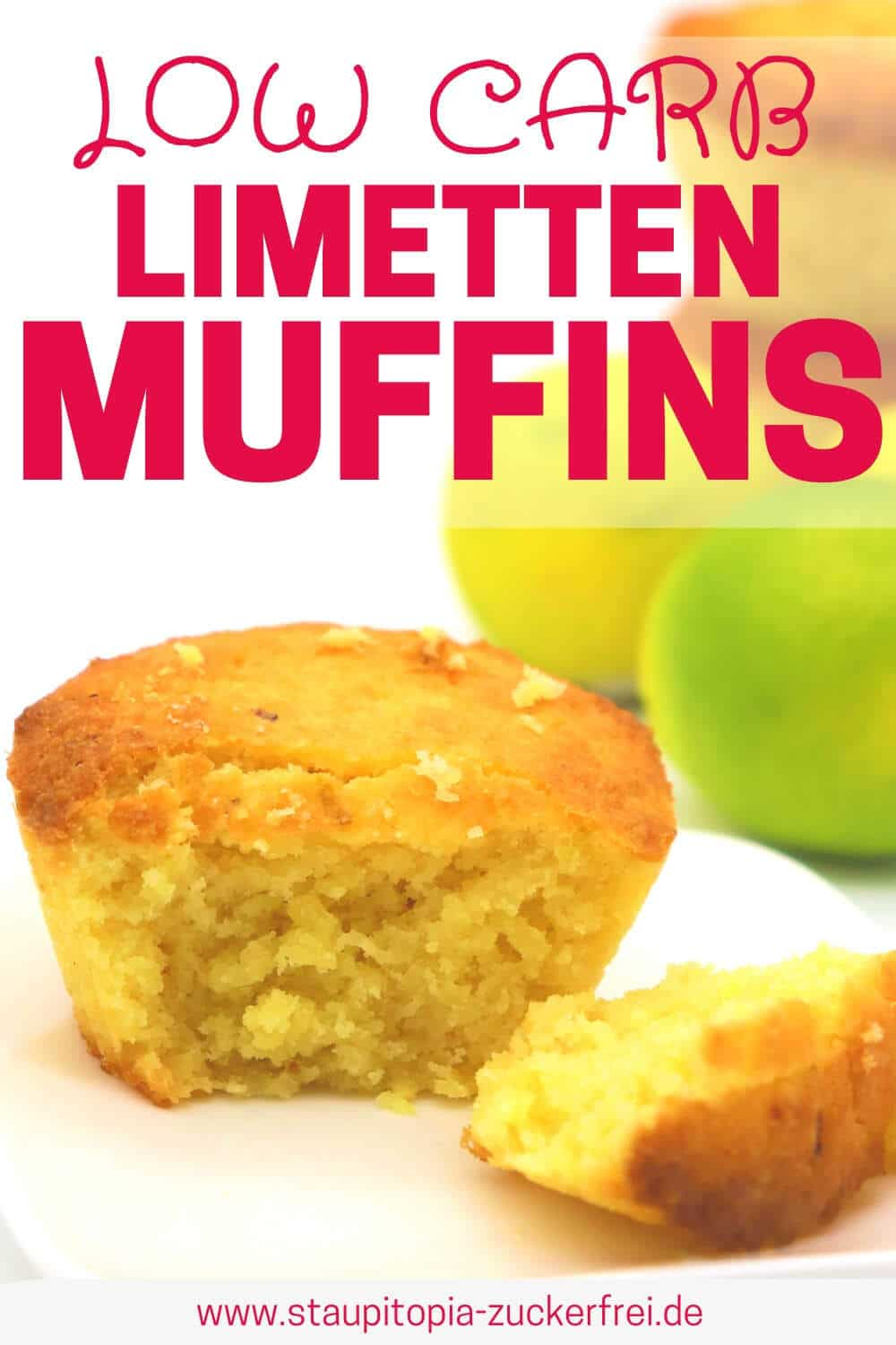 Low Carb Limetten Muffins backen