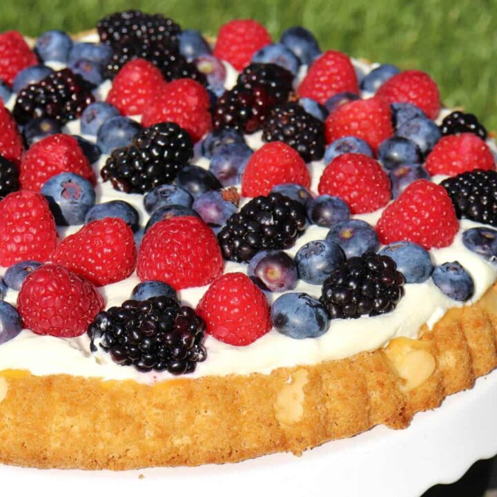 Low Carb Obstkuchen ohne Zucker