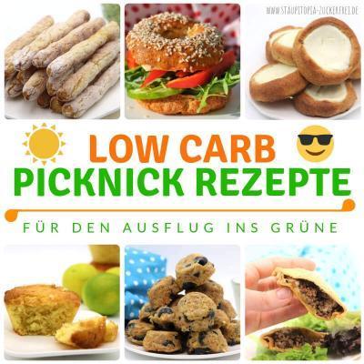 Low Carb Picknick Ideen für den Ausflug ins Grüne