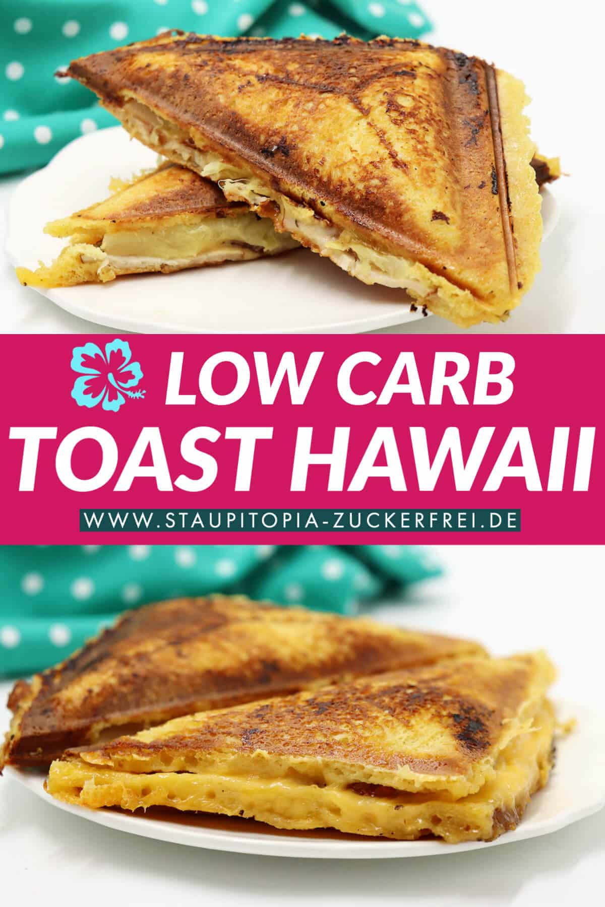 Low Carb Sandwich Hawaii Rezept