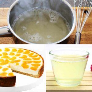 Low Carb Tortenguss Rezept ohne Zucker