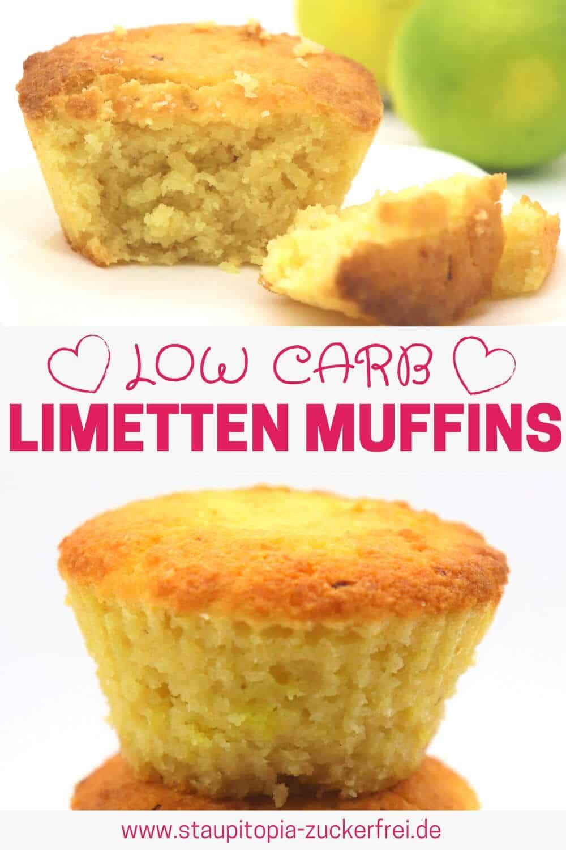 Muffins ohne Zucker backen mit Erythrit