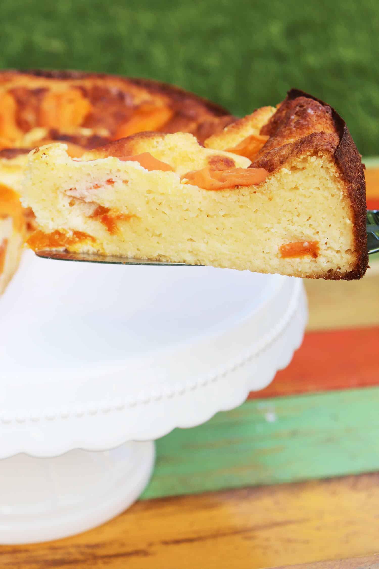 Aprikosenkuchen ohne Zucker Rezept