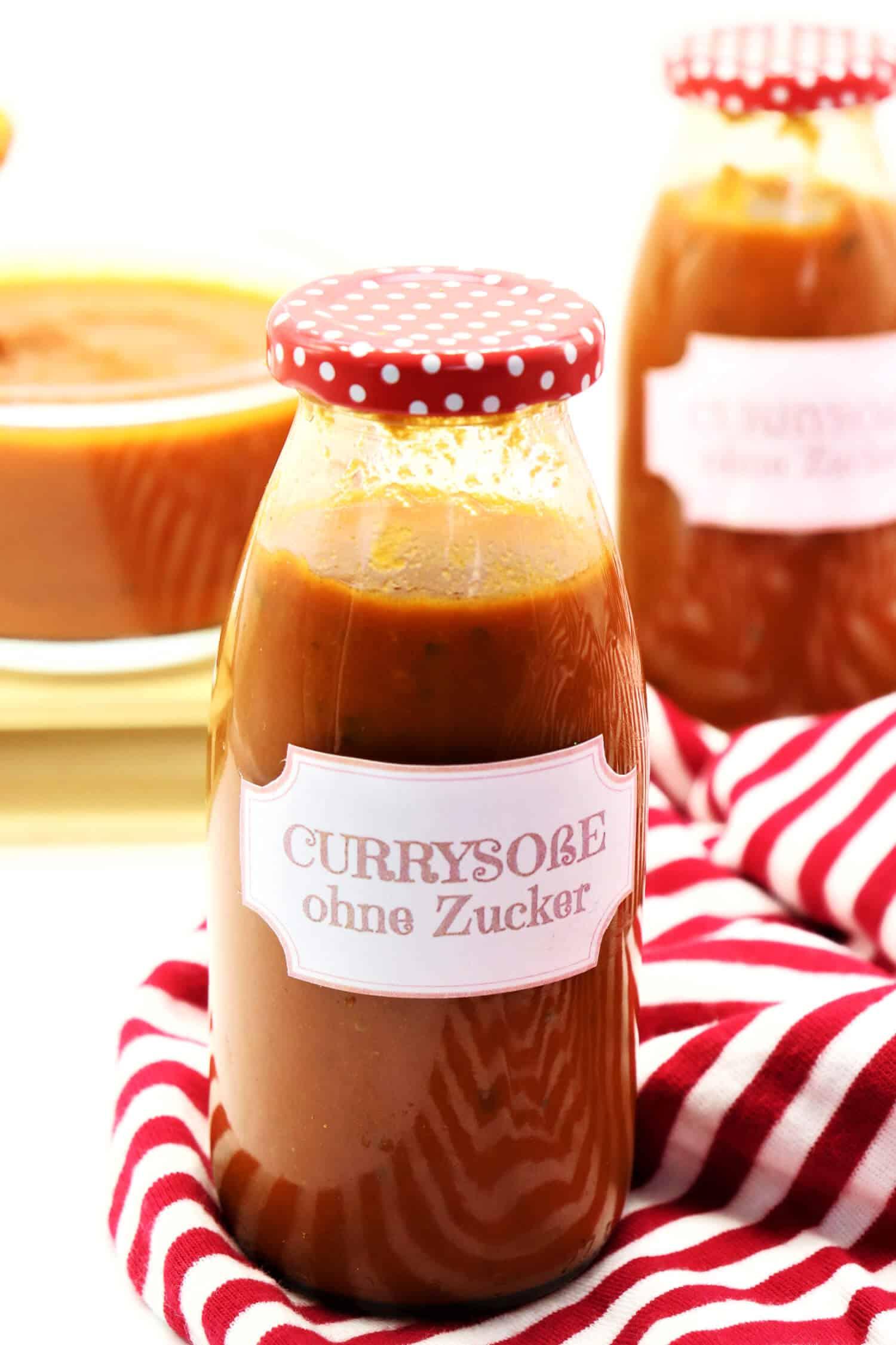 Currywurst Soße ohne Zucker Rezept