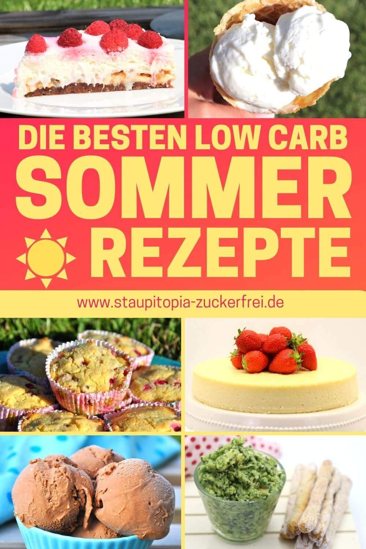 Ohne Zucker: Low Carb Rezeptideen für den Sommer