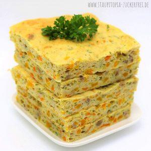 Low Carb Kürbis Pfannkuchen ohne Kohlenhydrate