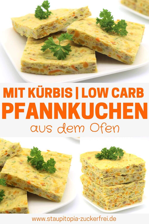 Low Carb Pfannkuchen mit Kürbis Rezept