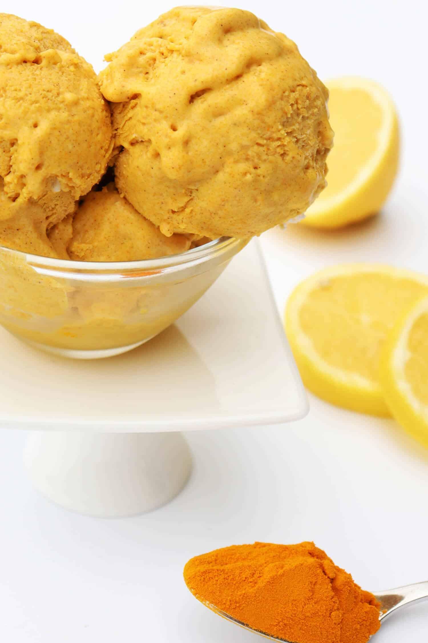 Goldene Milch Eis Rezept