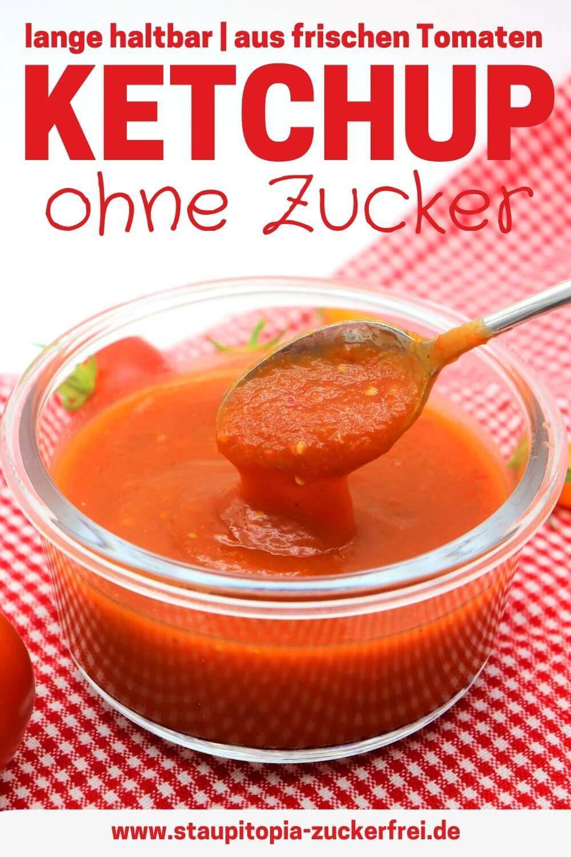 Der beste Ketchup ohne Zucker Rezept