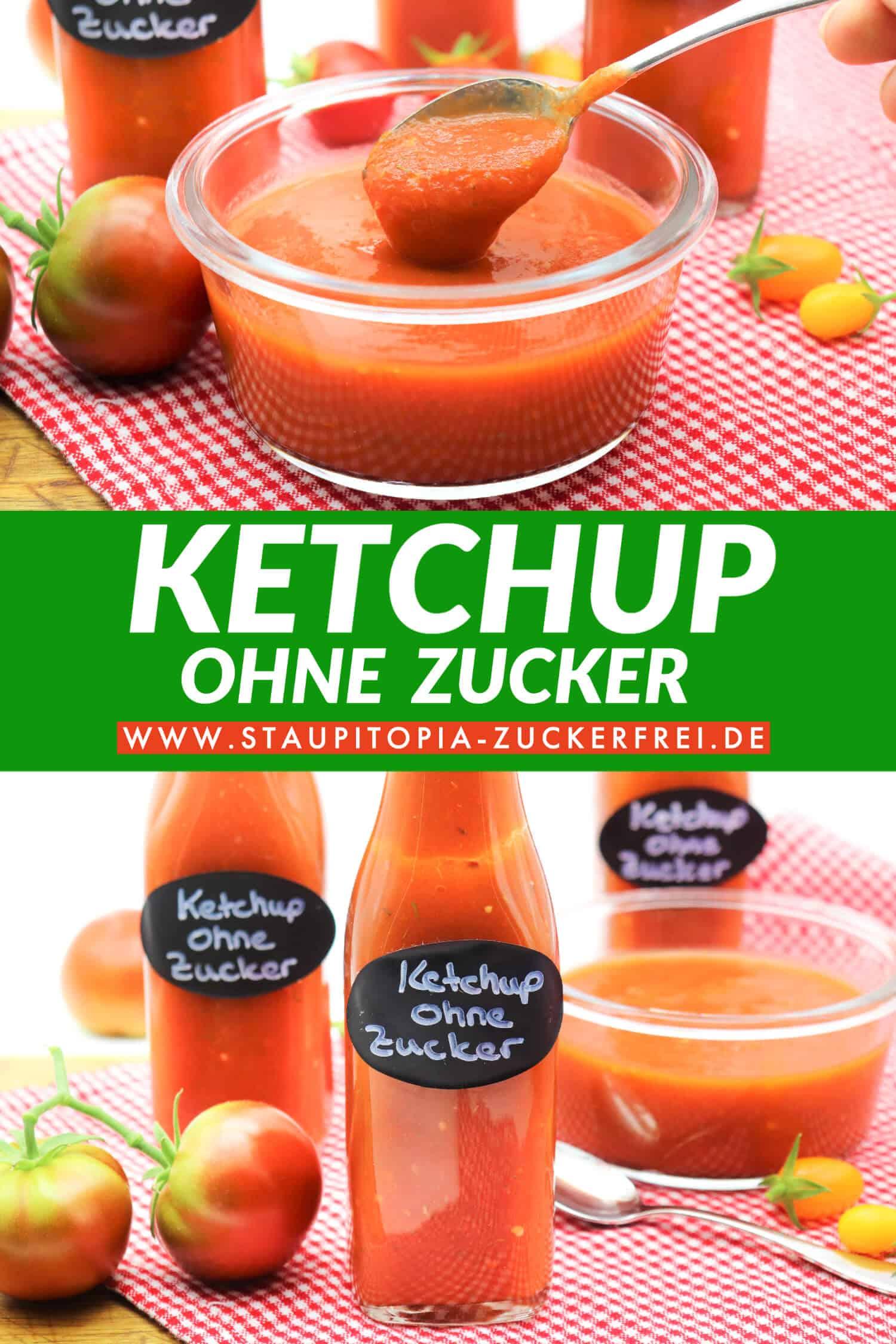 Gesunden Ketchup ohne Zucker selber machen