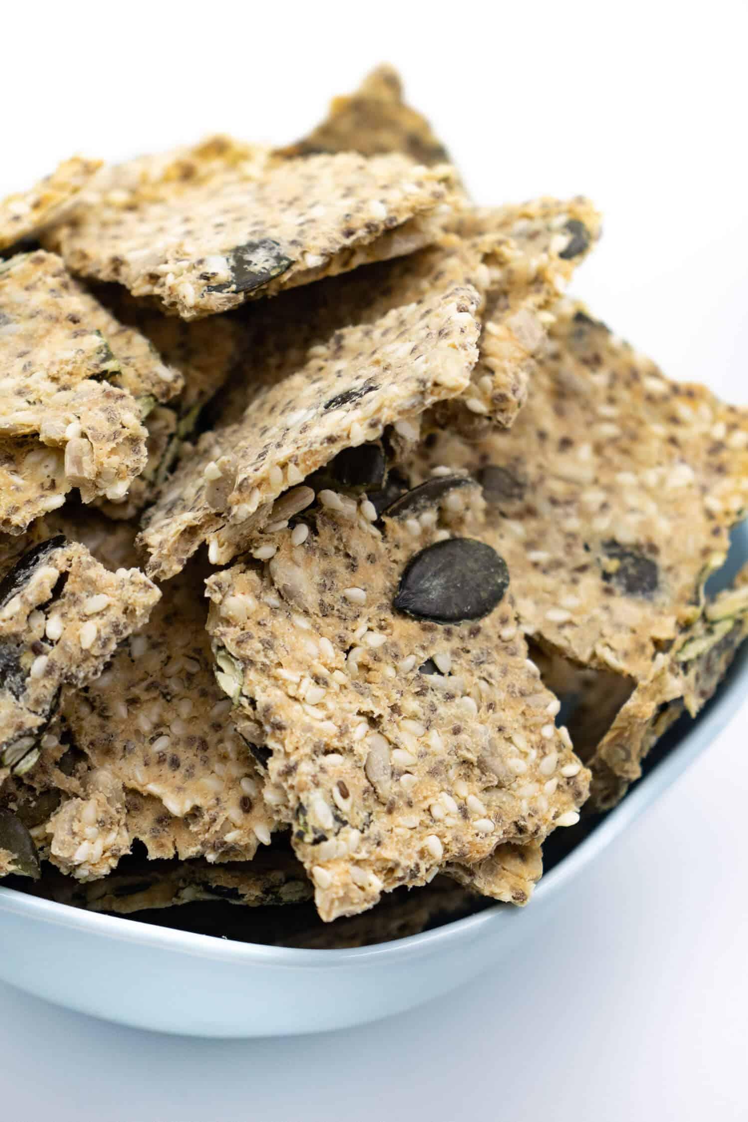 Rezept für Keto Cracker
