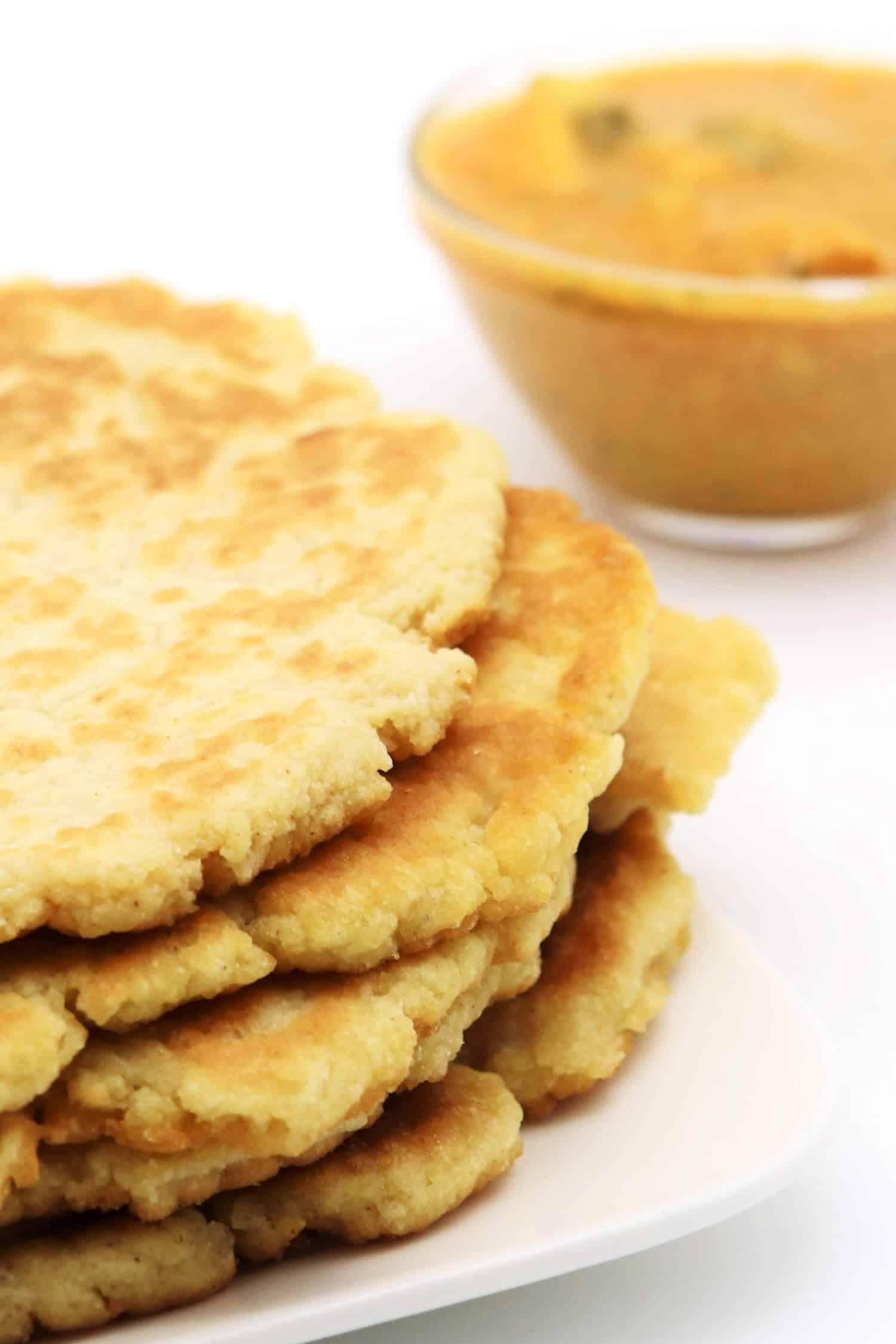 Rezept für Keto Naan Brot