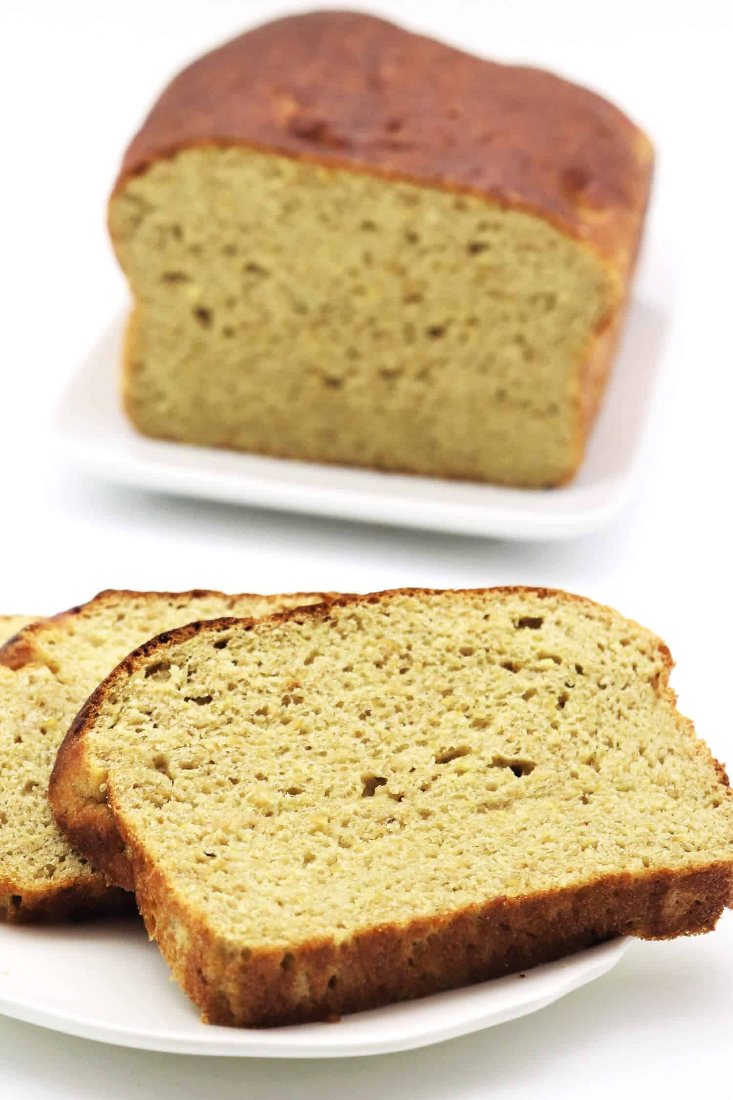 Low Carb Brot mit Gluten backen