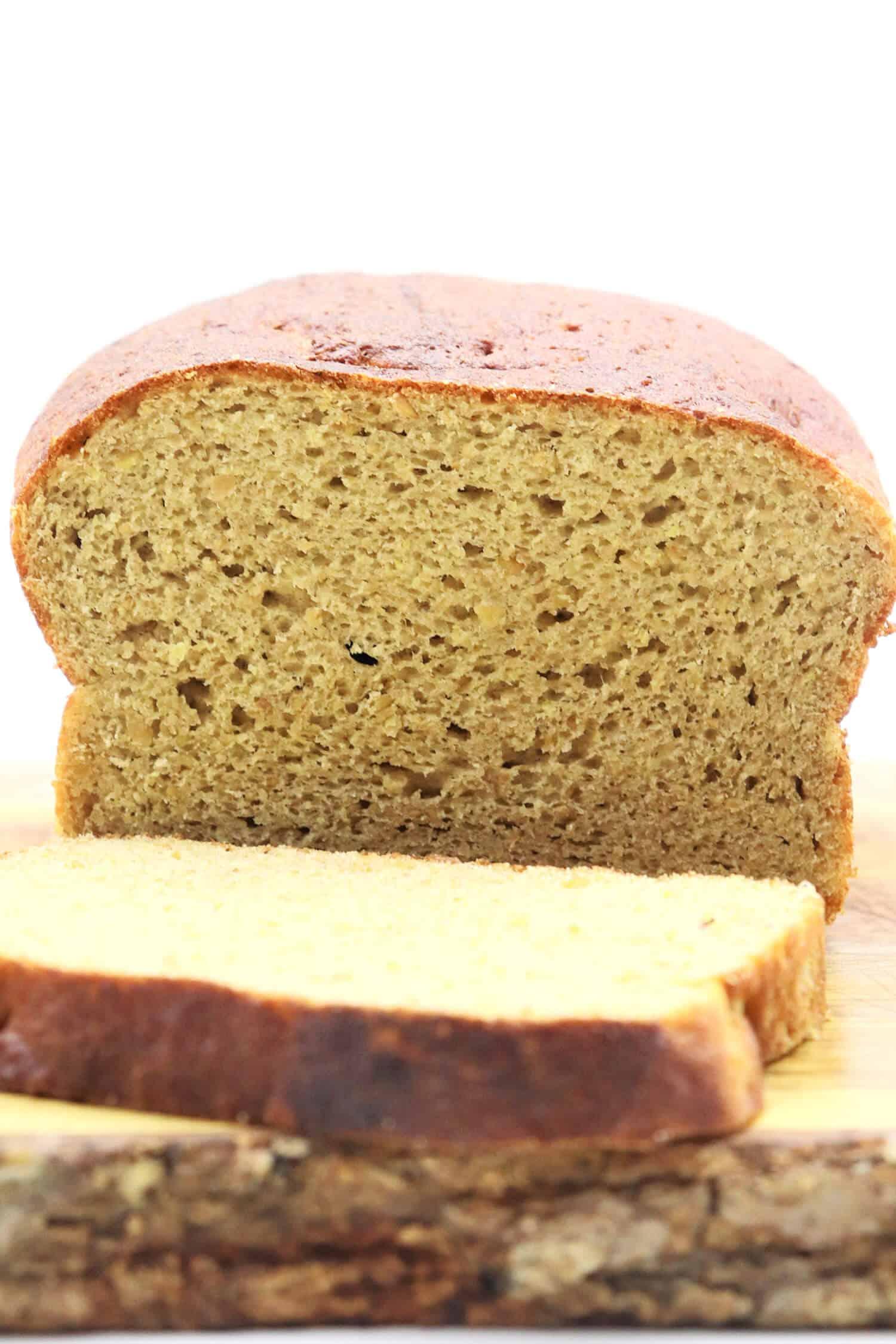 Rezept für ein Low Carb Brot mit Mandelmehl
