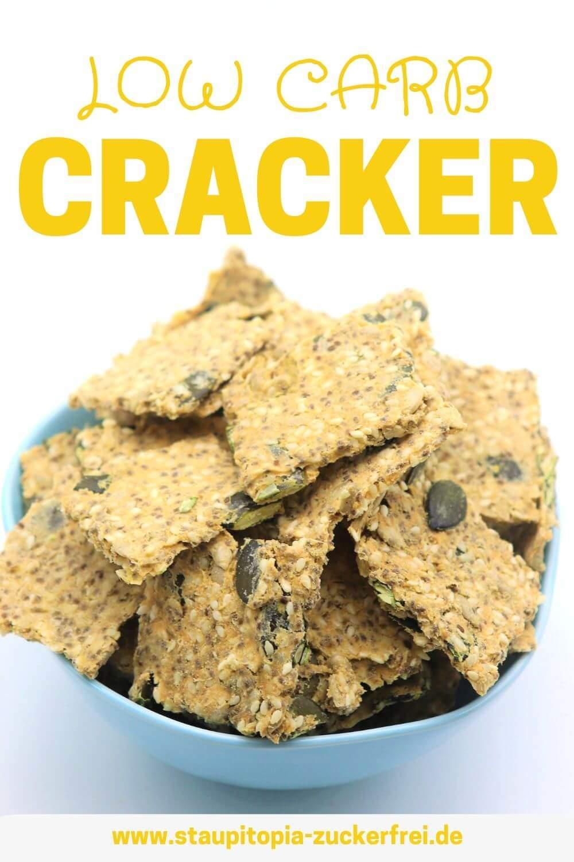 Low Carb Cracker Rezept schnell und einfach