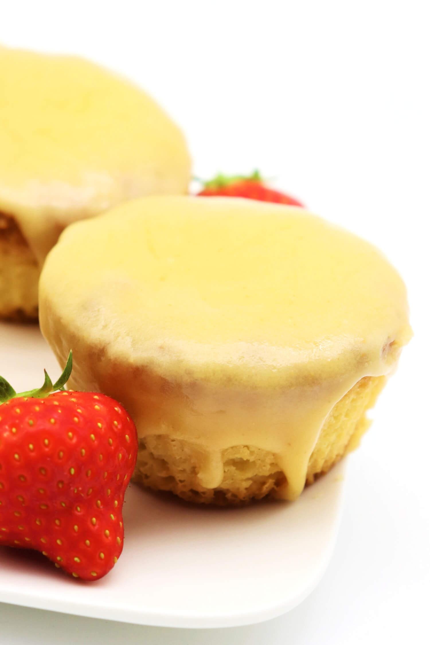 Rezept für Low Carb Karamell Muffins