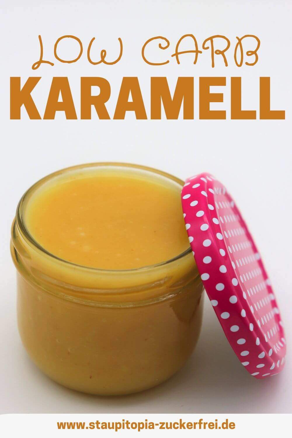 Low Carb Karamell Rezept