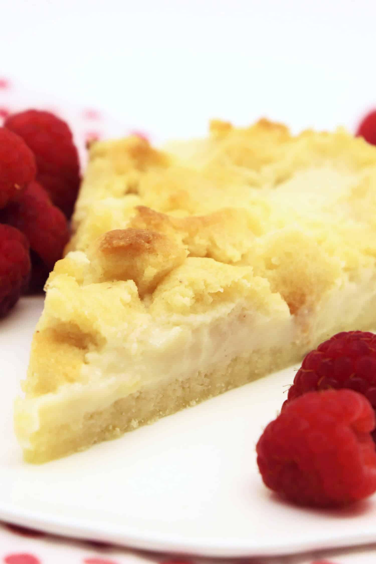 Low Carb Kuchen mit Pudding ohne Zucker
