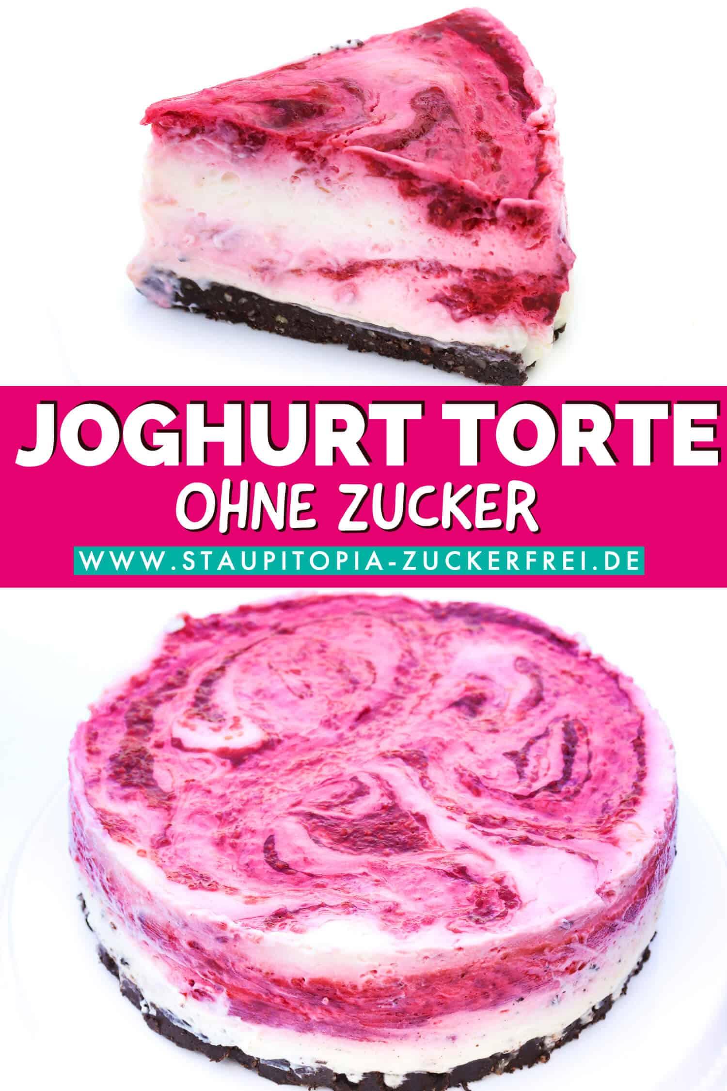 Rezept für einen zuckerfreien und veganen Low Carb Kuchen