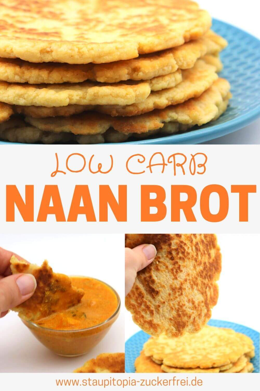 Low Carb Naan Brot ohne Kohlenhydrate