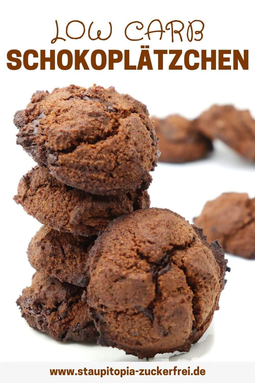 Low Carb Schokoplätzchen mit Kakao Rezept