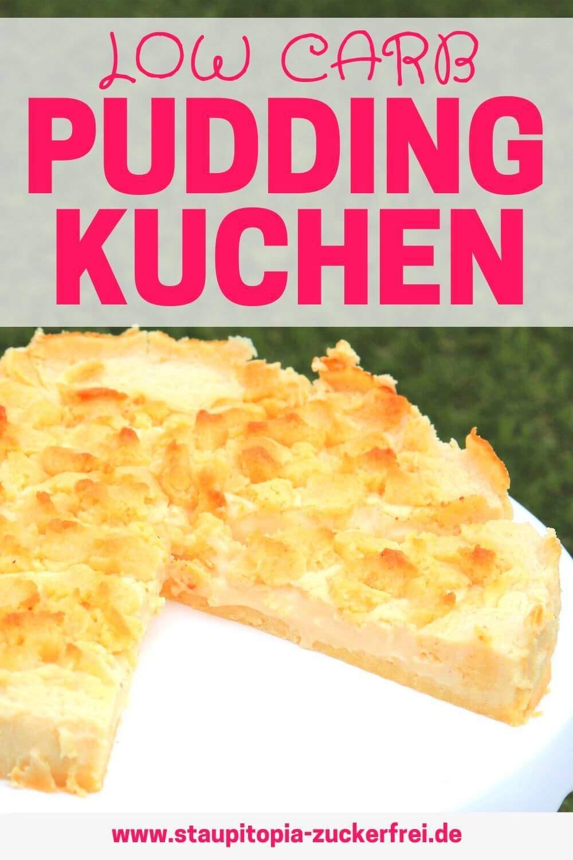 Low Carb Streuselkuchen mit Pudding Rezept