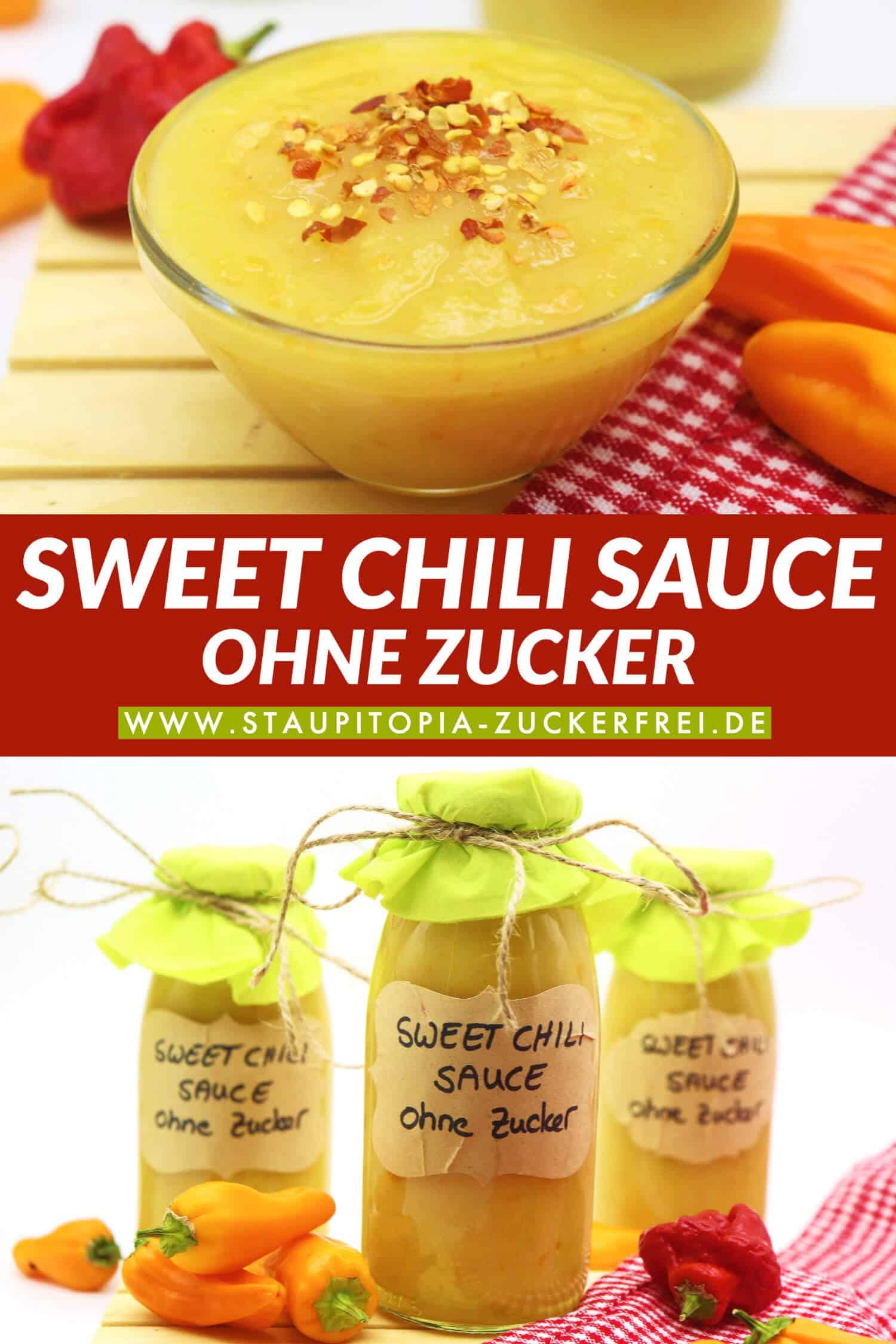 Vegane Low Carb Sweet Chili Sauce Rezept