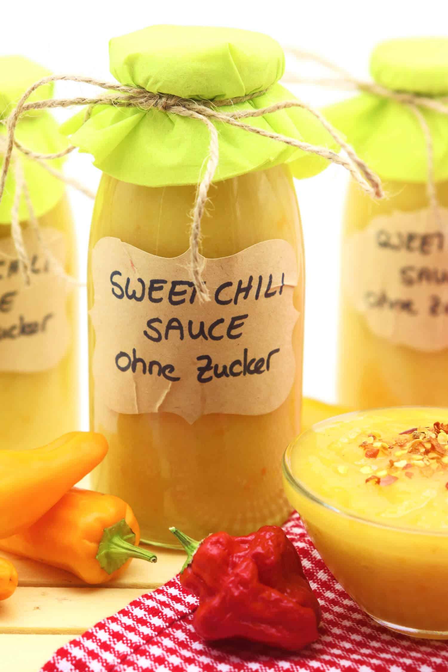 Rezept für die beste Low Carb Sweet Chili Sauce