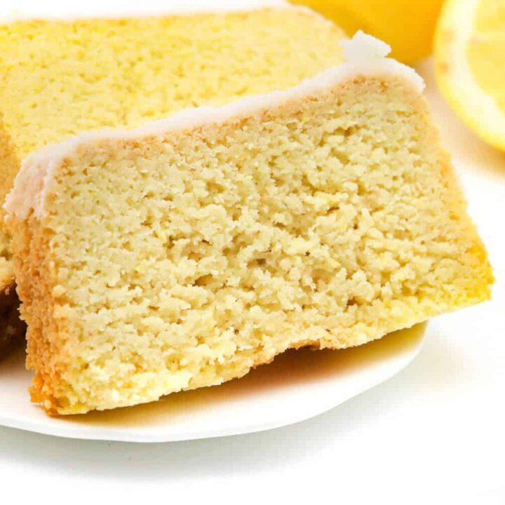 Low Carb Zitronenkuchen ohne Zucker